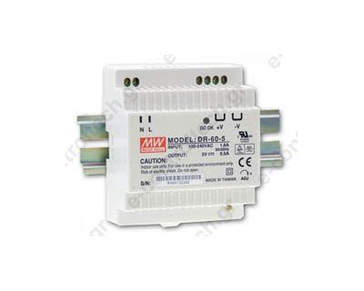 Τροφοδοτικό 24VDC, 2.5A, 60W
