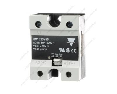 Solid State relay 25A, IN 0-10 V DC, OUT 230 V AC