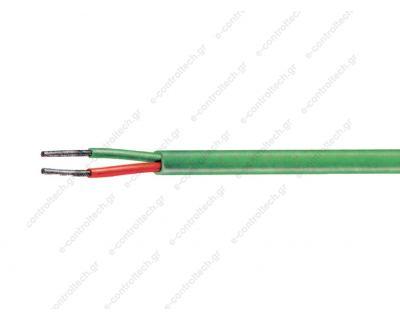 Καλώδιο Θερμοστοιχείων Τύπου Κ 2Χ1 PVC