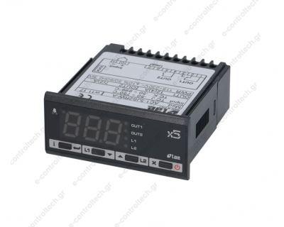 Θερμοστάτης  TC J/K 2 Ρελέ 115/230V