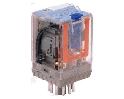 Μικρορελέ Λυχνίας 3CO 6A 24VDC