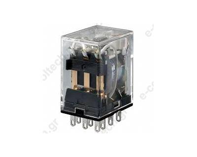 Μικρορελέ Λυχνίας 3CO 5A 24VDC