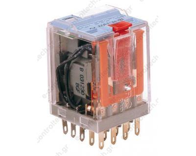 Μικρορελέ Λυχνίας 4CO 10A 230VAC