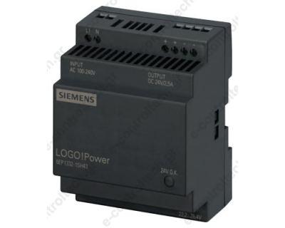 Τροφοδοτικό LOGO  ΙΝ100-240VAC OUT 2.5A 24VDC