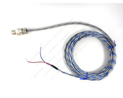 Θερμοστοιχείο Τύπου J Φ6mm L6m με Μπλεντάζ