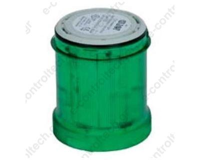 Στοιχείο Φανού Πράσινο Φ60 LED flashing 24V AC/DC