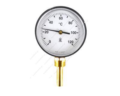 Θερμοστάτης Κάθετος 0-120C Φ80/Φ12Χ50 G 1/2