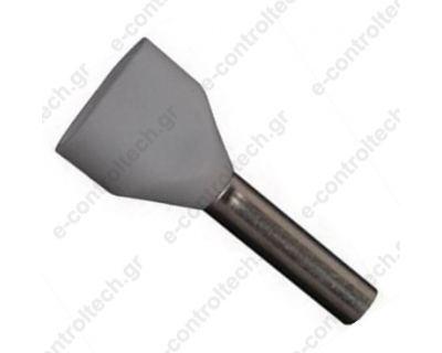 Μύτες Γκρι 2x0.75mm Η0.75/14D (Συσκευασία 100 τμχ)