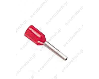 Μύτες Κόκκινες 1,0mm Η1.0/14D (Συσκευασία 100 τμχ)