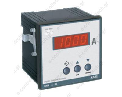 Αμπερόμετρο Ψηφιακό 96Χ96