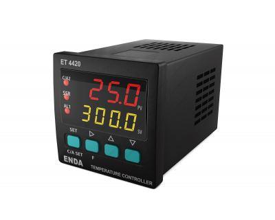 Θερμοστάτης Ψηφιακός 48Χ48 24V AC/DC