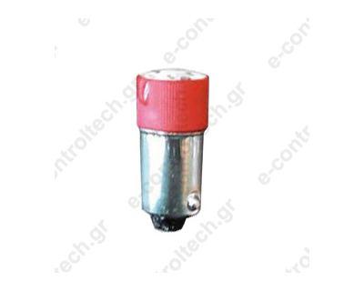 Λαμπάκι Led Β95 220V Κόκκινο