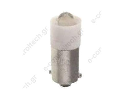 Λαμπάκι Led Β95 Λευκό 24V AC/DC