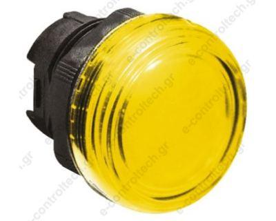 Κεφαλή Λυχνία Κίτρινη πλαστικό Lovato