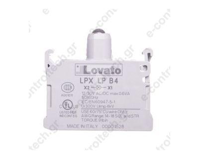 Λυχνία LED Κόκκινη 18-30 V AC/DC για Μπουτόν