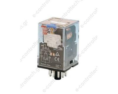 Μικρορελέ Λυχνίας 3CO 10A 24VDC