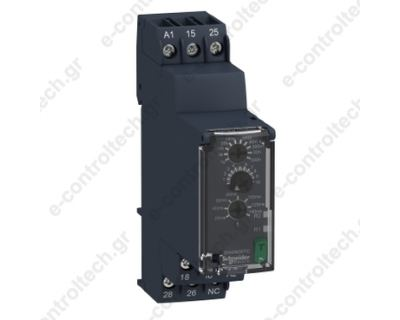 Χρονικό Υ/Δ 24-240 AC/DC 0.05s-300h 2 C/O 8A