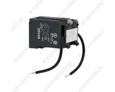 Μετασχηματιστής 400v AC/24V για Λυχνία LED Φ22 ZBV