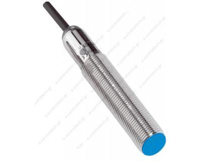 Επαγωγικός Διακόπτης  Φ12, PNP, NO,4mm, Καλώδιο 2m