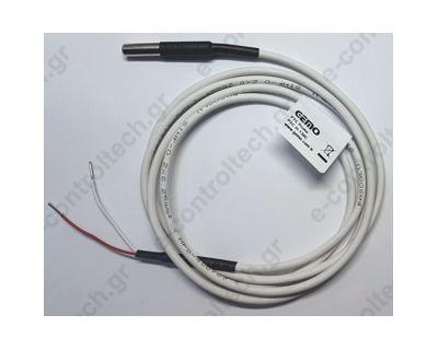 Θερμοστοιχείο PTC1000 Ω Φ6 μεταλλικό GEMO