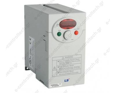 Inverter 0.37KW, 0.5HP, 220V Χωρίς Φίλτρο