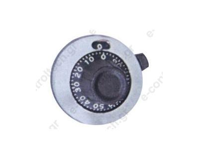 Κουμπί Ποτενσιόμετρου 15 Στροφών Φ23mm