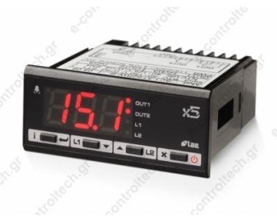 Θερμοστάτης  PΤ100 2 Ρελέ 12Vac/dc