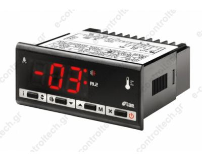 Θερμοστάτης Απόψυξης 2 NTC/PTC 2rls 230V RS485