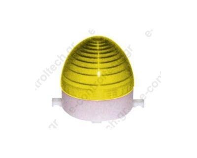 Φάρος Strobe (80x86mm)  230V AC Κίτρινος