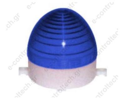Φαρός Strobe (80x86mm) 24V DC Μπλε