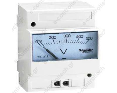 Βολτόμετρο Αναλογικό Ράγας 0-500V