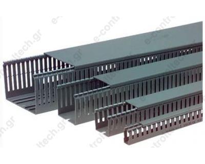 Κανάλι Πλαστικό Διάτρητο Β60 x Υ80 (24m)
