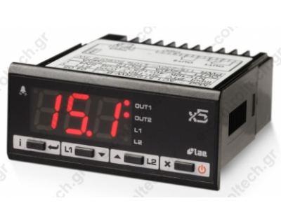 Θερμοστάτης Ψηφιακός 230V 2 OUT PT100