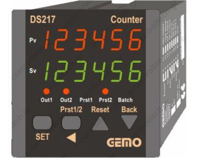 Μετρητής Παλμών 72x72, 100-240V AC
