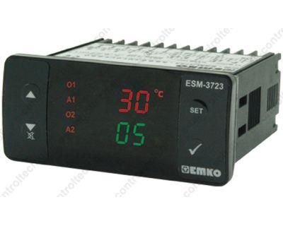 Θερμοστάτης υγροστάτης ψηφιακός 77X35 mm 230 V