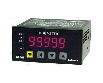Μετρητής Στροφών Μόνο Ένδειξη  PNP/NPN 96X48mm