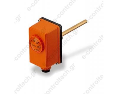Θερμοστάτης Εμβαπτιζόμενος Μονός 0-90C