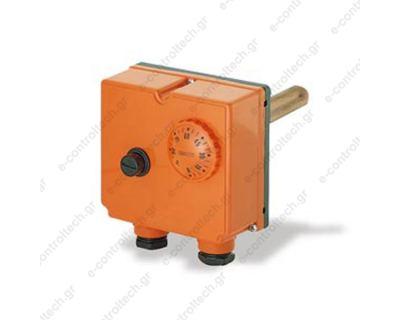 Θερμοστάτης Εμβαπτιζόμενος Διπλός  0-90C Ασφαλείας