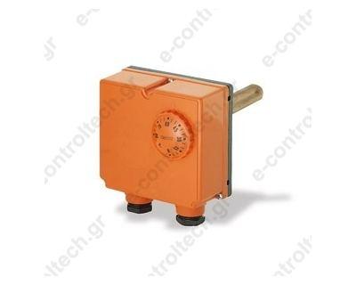 Θερμοστάτης Εμβαπτιζόμενος Διπλός  0-90C