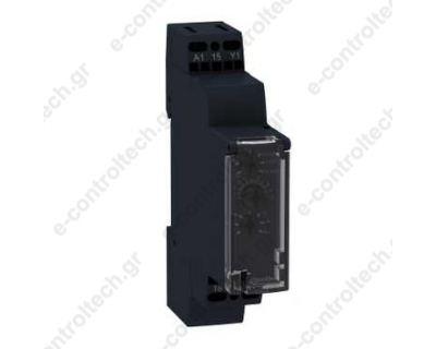 Χρονικό Πολλαπλών Λειτουργιών 1s-100h 12-240VAC/DC