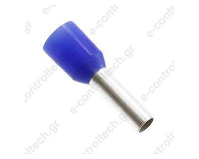 Μύτες Μπλε 2,5mm Η2,5/15D (Συσκευασία 100 τμχ)