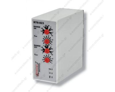 Διπλό Χρονικό Τ1+Τ2 0,1 sec-10 days 230V AC/DC