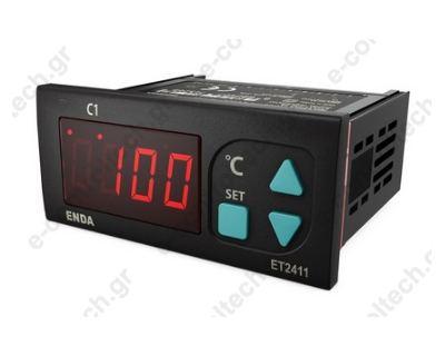 Θερμοστάτης Ψηφιακός NTC -60/150 C 230 V AC 1 out