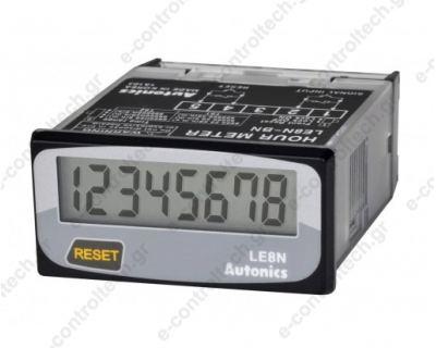 Ωρομετρητής μπαταρίας ψηφιακός με reset 48Χ24 mm