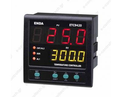 Θερμοστάτης Ψηφιακός 96x96 PID 24V AC/DC